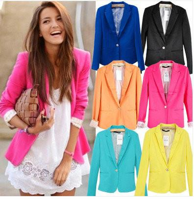 5 Looks con Blazer de Color!!