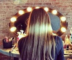 splashlights mechas californianas ombre hair