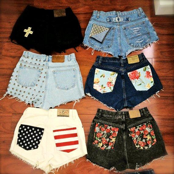 short pantalones customizados4