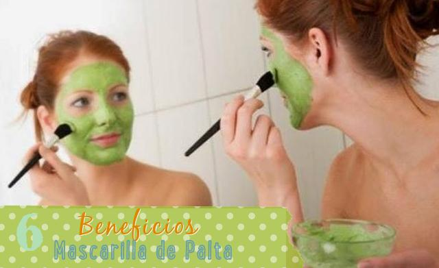 6 beneficios mascarillas aguacate palta