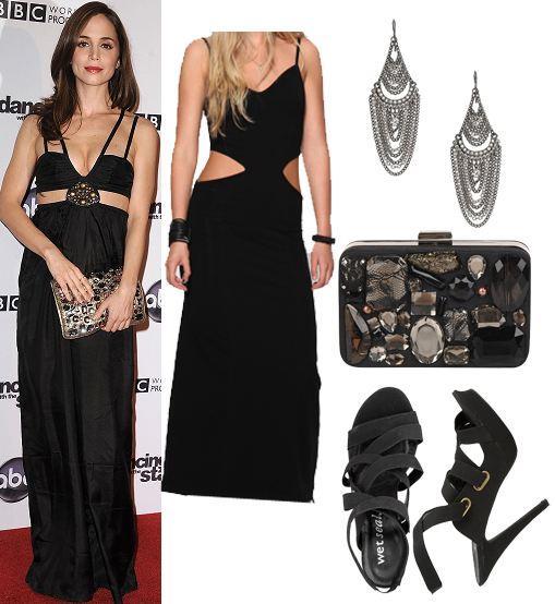 Accesorios para traje negro de mujer